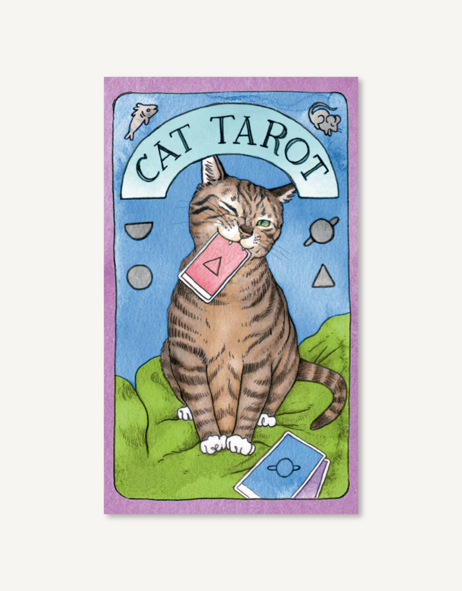Cat Tarot by Megan Lynn Kott