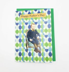 Sarcasm Happy Father's Day Greeting Card - Calypso