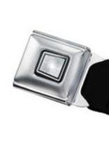 Buckle Down Belts Starburst Seatbelt Belt - Ace of Spades Webbing