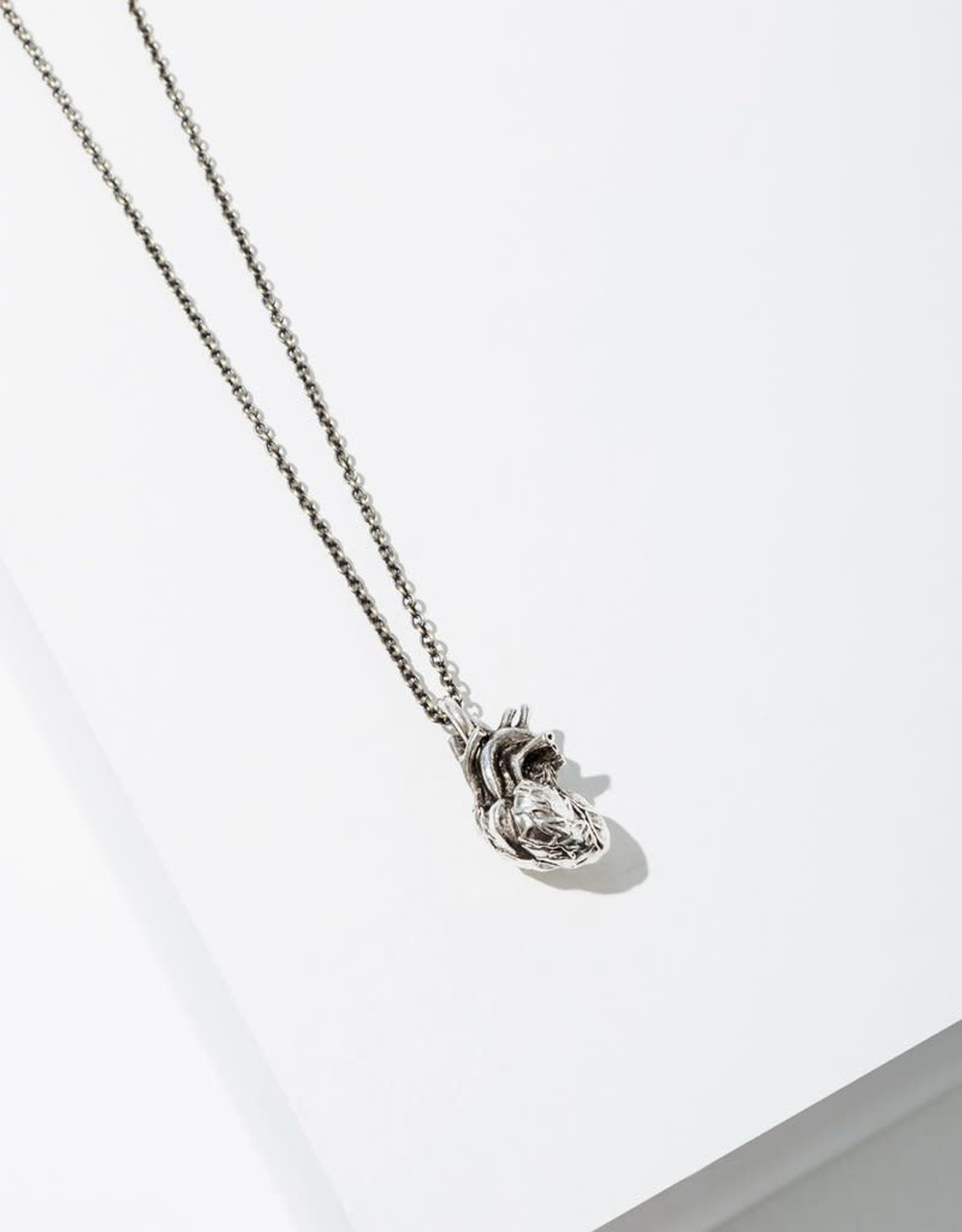 Larissa Loden Anatomical Brass Heart Necklace - Larissa Loden