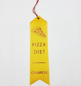 """Pizza Diet Champion"" Award Ribbon"