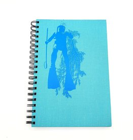 Scuba Diver - Recycled Book Journal