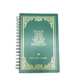 Tough Times Never Last - Recycled Book Journal