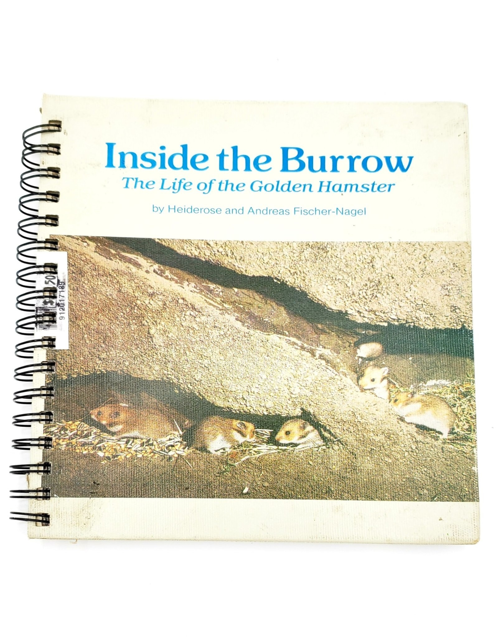 Attic Journals Inside the Burrow - Recycled Book Journal