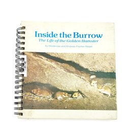 Inside the Burrow - Recycled Book Journal