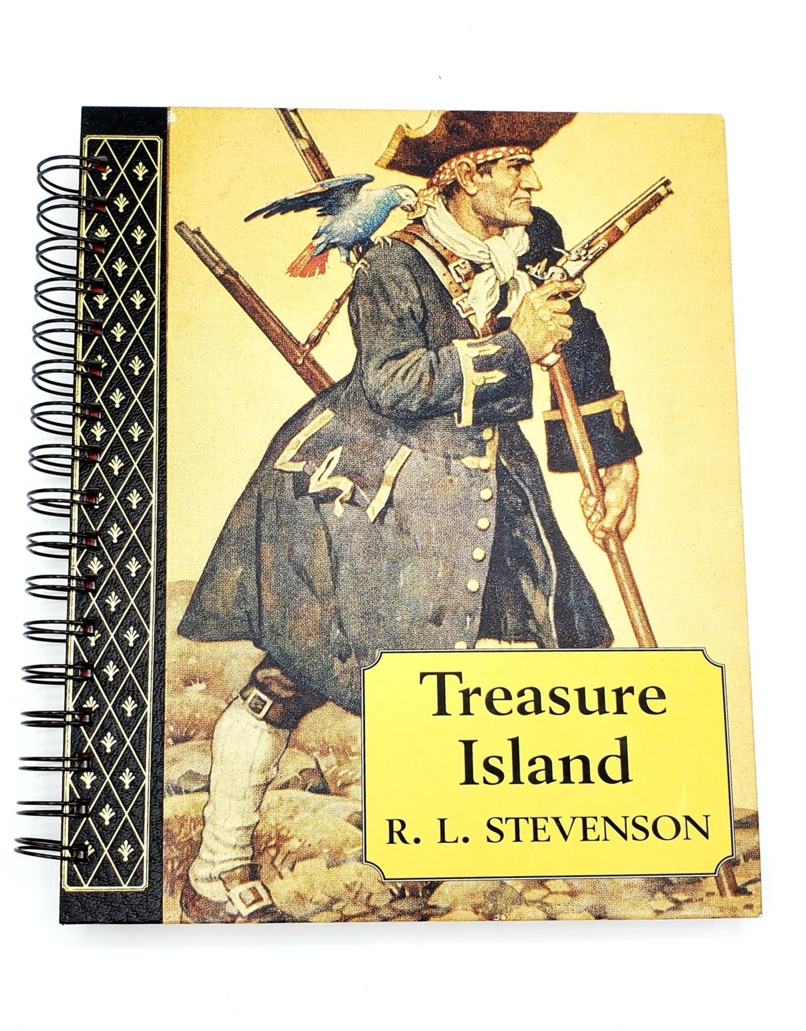 Attic Journals Treasure Island - Recycled Book Journal