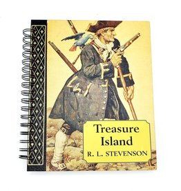 Treasure Island - Recycled Book Journal