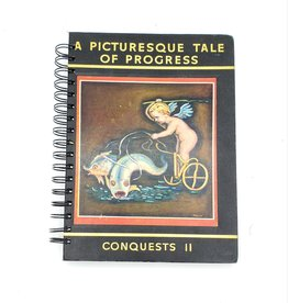 A Picturesque Tale of Progress - Recycled Book Journal