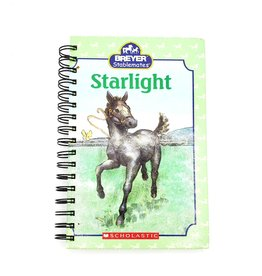 Starlight Foal - Recycled Book Journal