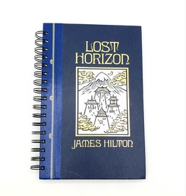 Lost Horizon - Recycled Book Journal