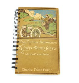 Attic Journals The Further Adventures of Quincy Adams Sawyer - Recycled Book Journal