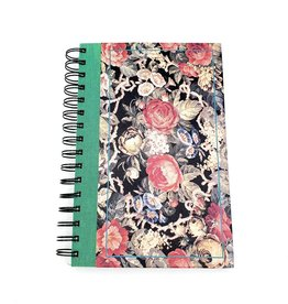 Floral - Recycled Book Journal
