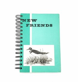 New Friends - Recycled Book Journal