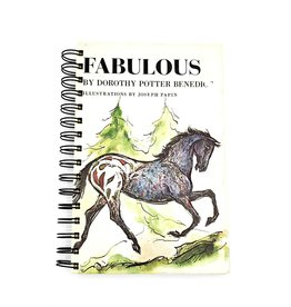 Fabulous Horse - Recycled Book Journal