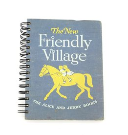 Friendly Village - Recycled Book Journal