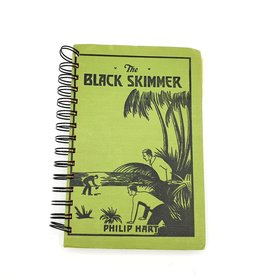 The Black Skimmer - Recycled Book Journal
