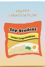Seltzer ''Top Student'' Graduation Greeting Card - Seltzer