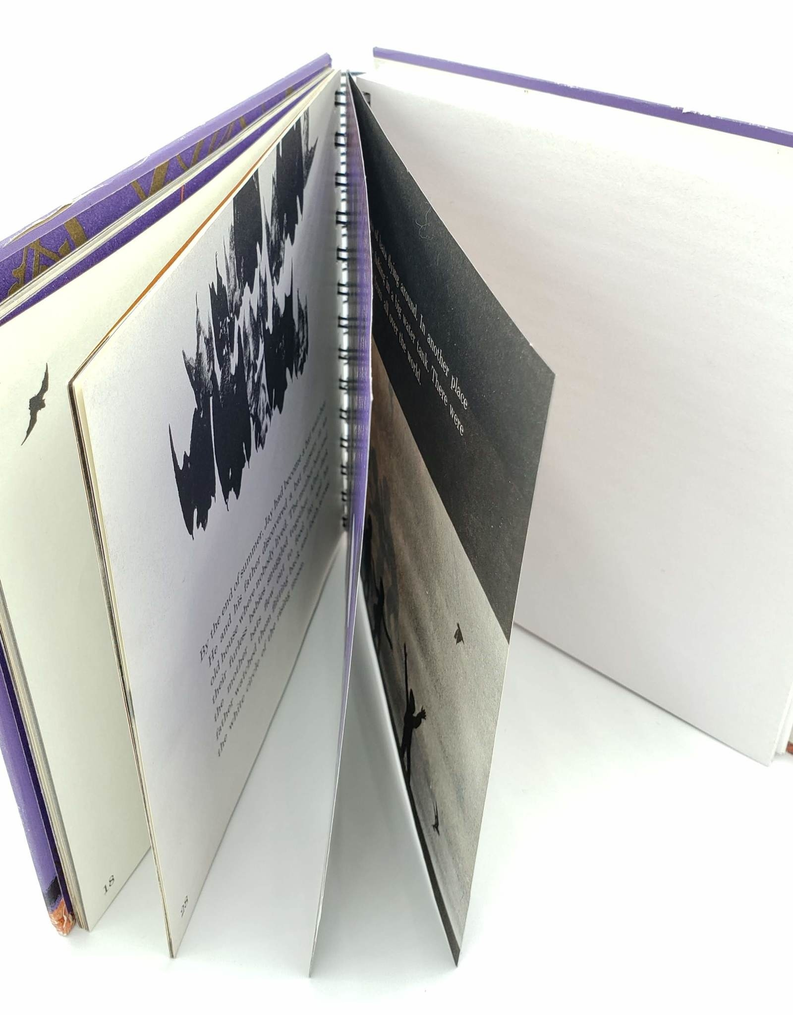 Attic Journals Bats in the Dark - Recycled Book Journal
