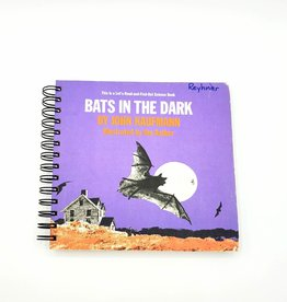 Bats in the Dark - Recycled Book Journal