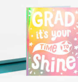 "Allison Cole ""It's Your Time to Shine"" Graduation Greeting Card - Allison Cole"