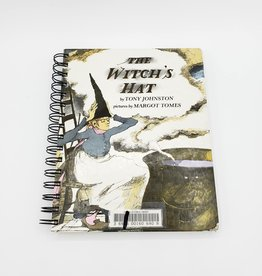 The Witch's Hat - Recycled Book Journal