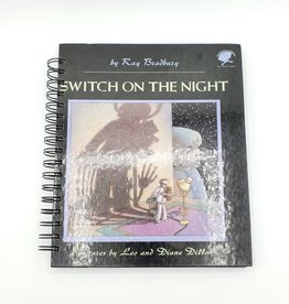 Switch on the Night - Recycled Book Journal