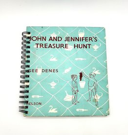 John & Jennifer's Treasure Hunt - Recycled Book Journal
