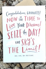 """Emily McDowell """"Now is the Time"""" Graduation Greeting Card - Emily McDowell"""