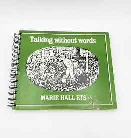 Talking Without Words - Recycled Book Journal