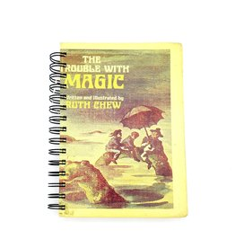 The Trouble With Magic - Recycled Book Journal