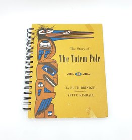 Attic Journals The Totem Pole - Recycled Book Journal