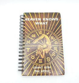 Heaven Knows What - Recycled Book Journal