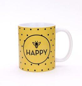 Seltzer Bee Happy Mug by Seltzer