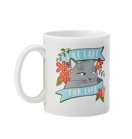 "Emily McDowell ""Cat Lady"" Mug by Emily McDowell"