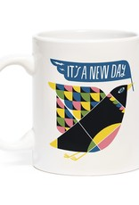 """Emily McDowell """"It's a New Day"""" Mug by Emily McDowell"""