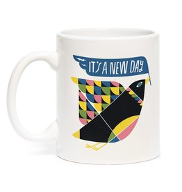 "Emily McDowell ""It's a New Day"" Mug by Emily McDowell"