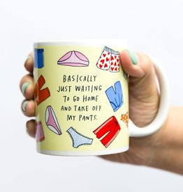 "Emily McDowell ""Take off my Pants"" Mug by Emily McDowell"