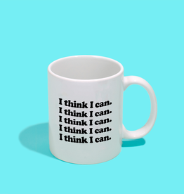 I Think I Can Mug by Sweaty Wisdom