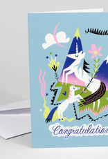 Mama and Baby Unicorn Congratulations Greeting Card - Buy Olympia
