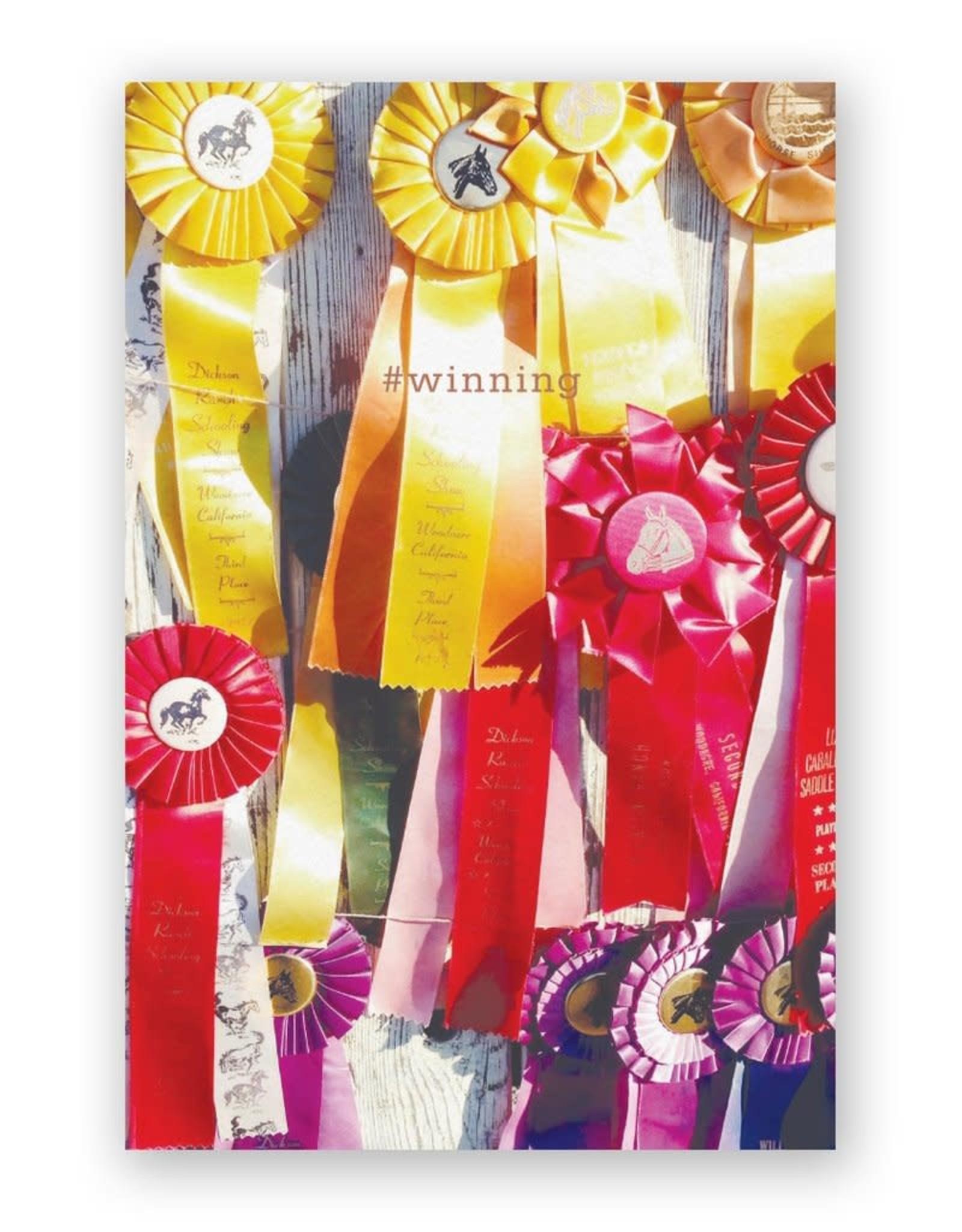 "Mincing Mockingbird ""#winning"" Congratulations Greeting Card - The Mincing Mockingbird"