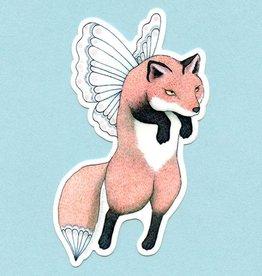 Fox Faerie Sticker - Bee's Knees Industries