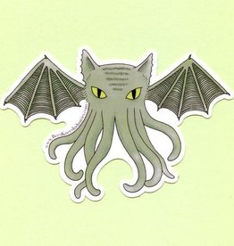 Bee's Knees Industries Cat-thulhu Sticker - Bee's Knees Industries