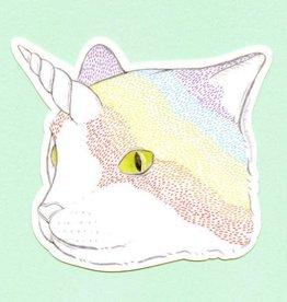 Bee's Knees Industries Rainbow Caticorn Sticker - Bee's Knees Industries