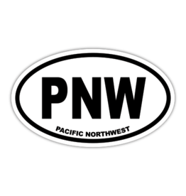 PNW Pacific Northwest Sticker