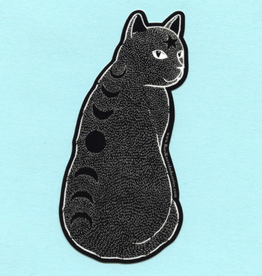 Moon Phase Cat Sticker - Bee's Knees Industries