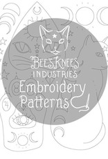 Bee's Knees Industries Witchcats Iron-On Embroidery Transfer - Bee's Knees Industries