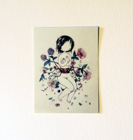 Stasia Burrington Alberta - Creepy Cute Flowers and Guts Girl - Stasia Burrington