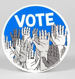 VOTE Sticker - Nikki McClure