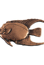 Copper Angel Fish Adult Pin/Brooch