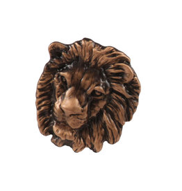 Copper Lion Pin/Brooch